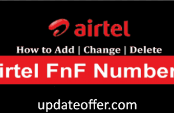 How To Add or Remove Airtel FNF Number