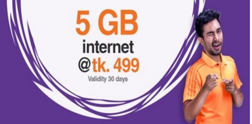 Banglalink 5GB 499Tk Offer