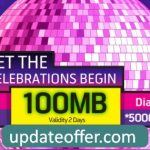 GP 100MB Internet Only 1Tk