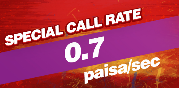 Robi 0.7Paisha Call Rate Offer