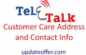 Teletalk Customer Care Address and Contact Info