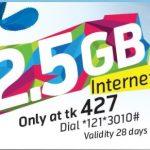 GP 2.5GB Internet 427Tk Offer