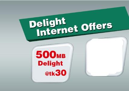 Robi 500MB Internet 30Tk Offer