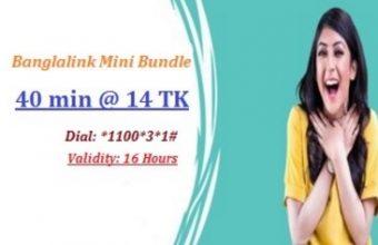 Banglalink 40 Minute 14Tk Offer