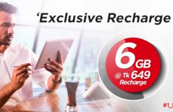 Robi 6GB Internet 649Tk Offer For 28 Days