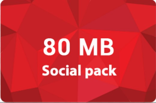 Robi 80MB Social Internet 5Tk Offer