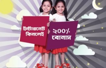 Robi Eid Bonus 200% Night Internet Offer
