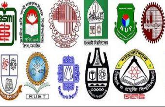 Bangladesh All Public University List